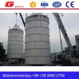 구체적인 플랜트 (SNC100)를 위한 주문을 받아서 만들어진 강철 시멘트 창고