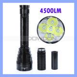 Tr-J12 5 * CREE Xm-L Xml T6 4500lm Waterproof LED Flashlight Torch für Camping