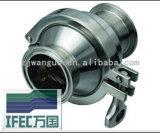 Válvula de verificação sanitária do aço inoxidável (IFEC-CV100002)