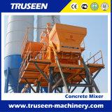 De tweeling Machine van het Blok van het Schuim van de Concrete Mixer van de Schacht Concrete