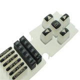 Le silicone Rubsmall Télécommande Keypadsber clavier en caoutchouc de silicone conducteur