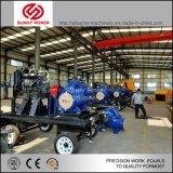 10inh de diesel Pomp van het Water voor Mijnbouw/de Drainage van de Vloed met Aanhangwagen