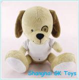 Angefülltes Animals Plush Dog mit T-Shirt Plush Toy