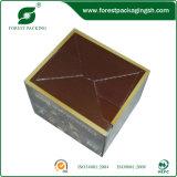 Rectángulo de papel del chocolate de la impresión de color