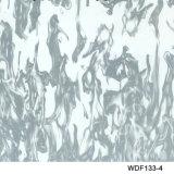 Kingtop 1m Breiten-Schädel und Flamme konzipieren hydrografisches eintauchendes flüssiges Bild hydrografisches Film Wdf135-2