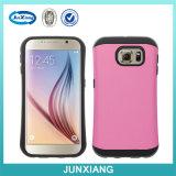 Мобильный телефон Accessories Case сотового телефона PC+TPU для Samsung S6