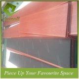 Kombinierte dekorative hölzerne Farben-Leitblech-Decken-Aluminiumfliesen mit Perforatuion