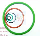 FDA, caoutchouc de silicones, caoutchouc de FKM, vert, Brown, joint circulaire noir
