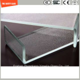 il vetro della costruzione di sicurezza di 3-19mm, il vetro di collegare, il vetro di laminazione, reticolo piano/ha piegato il vetro Tempered di Toughed per l'acquazzone/parete/divisorio con SGCC/Ce&CCC&ISO
