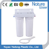 2 estágio Water Filter com White Housing