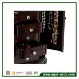 Comercio al por mayor Joyería elegante caja de almacenamiento de madera