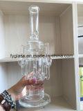 Conduite d'eau en verre de vente chaude avec de divers modèles neufs Percs neuf