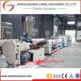 Extrusão do tubo de PVC plásticas Máquinas da linha de produção do extrusor