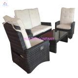 Mobília ao ar livre do Rattan do sofá quente da venda Hz-Bt132 com mobília de vime do Rattan da mobília da tabela da cadeira para a mobília de vime
