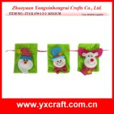 Noël de la décoration de Noël (ZY13L171-1-2-3 15CM) en vente