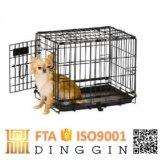 El cable Metal Pet Carrier para perros