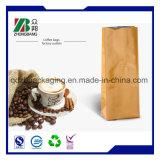 Bolsos de café laterales disponibles del bloqueo del cierre relámpago del escudete con la válvula unidireccional