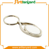 Catena chiave del metallo in lega di zinco del regalo di promozione