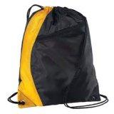 190t 210dポリエステルナイロン安いスポーツのバックパックのドローストリング袋