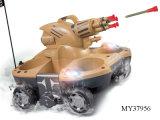 Controle remoto 4 Canais Tanques Anfíbios Shoot alvos (Meu37956)