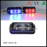 Diodo emissor de luz Warning Lights de Approval do CE Liner3 em Red Blue Color