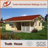 Panneaux en sandwich en acier de couleur mobile / mobile / modulaire / préfabriqué / acier préfabriqué Villa habitable confortable