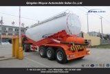 세 배 차축 55cbm는 대량 시멘트 트레일러 시멘트 유조선 탱크를 말린다