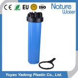 Grande custodia di filtro dell'acqua blu da 20 pollici