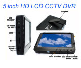 1,2 g de 5 pulgadas DVR aérea inalámbrica con monitor Parasol Fpv