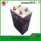 Batterie profonde de fer au nickel de cycle de la batterie 1.2V 700ah de /Solar de la batterie Ni-Technicien pour Energery solaire