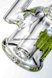 Mini DAB plataforma petrolífera Sherlock botella lavagases Pipa de vidrio