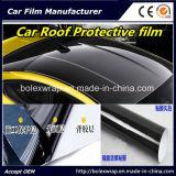 Alta pellicola nera lucida del vinile dell'involucro del tetto dell'automobile, pellicola del tetto dell'automobile per spostare