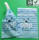 Bolsa Bio-Baseada Biodegradável, Eco-Friendly Drawstring Garbage Bag