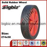Venda por grosso de 13 polegadas de qualidade especial as rodas de borracha maciça.