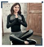 Spandex Hoodies бленды полиэфира цвета контраста женщин и кальсоны йоги