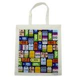 100% coton sac à provisions et sac à bandoulière en toile