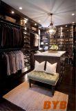 어두운 얼룩이 진 건축된 Ins 옷장 (BY-W-62)를 가진 옷장에 있는 주문 도보
