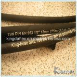 Flexibler hydraulischer Gummigummischlauch SAE-100 R3 R6