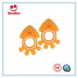 음식 급료 실리콘 신생 아기 Teether