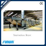 ガスの暖房装置が付いている高容量の織物のドライヤー機械