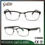 Novo design de moda espetáculo inoxidável estrutura óptica óculos de óculos
