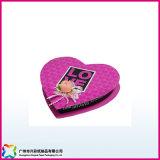 San Valentín regalo en forma de corazón caja de embalaje para la joyería// caramelos de chocolate (XC-1-051)