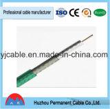Câble Rg11 coaxial de liaison avec le messager