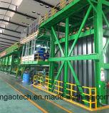 Ligne de revêtement en aluminium couleur, ligne de revêtement en couleur de bobine d'aluminium