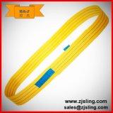 imbracatura infinita L=2m della tessitura di 1t -3t per carico (personalizzato)