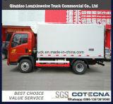 2018 nuevo carro del refrigerador de HOWO Van Cargo 4X2 5ton