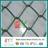 Recubierto de PVC galvanizada malla de alambre de acero inoxidable Valla eslabonada