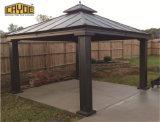 Diseño del techo de la pérgola Jardín cenador Metal Motorizado 4X4
