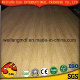 E0/E1/E2 Okoume/Beech/Ash/Oak/Bingtangor Teca madeira contraplacada de fantasia para fins decorativos