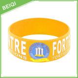 Mensagem e logotipo feitos sob encomenda em Wristbands do silicone nenhum MOQ